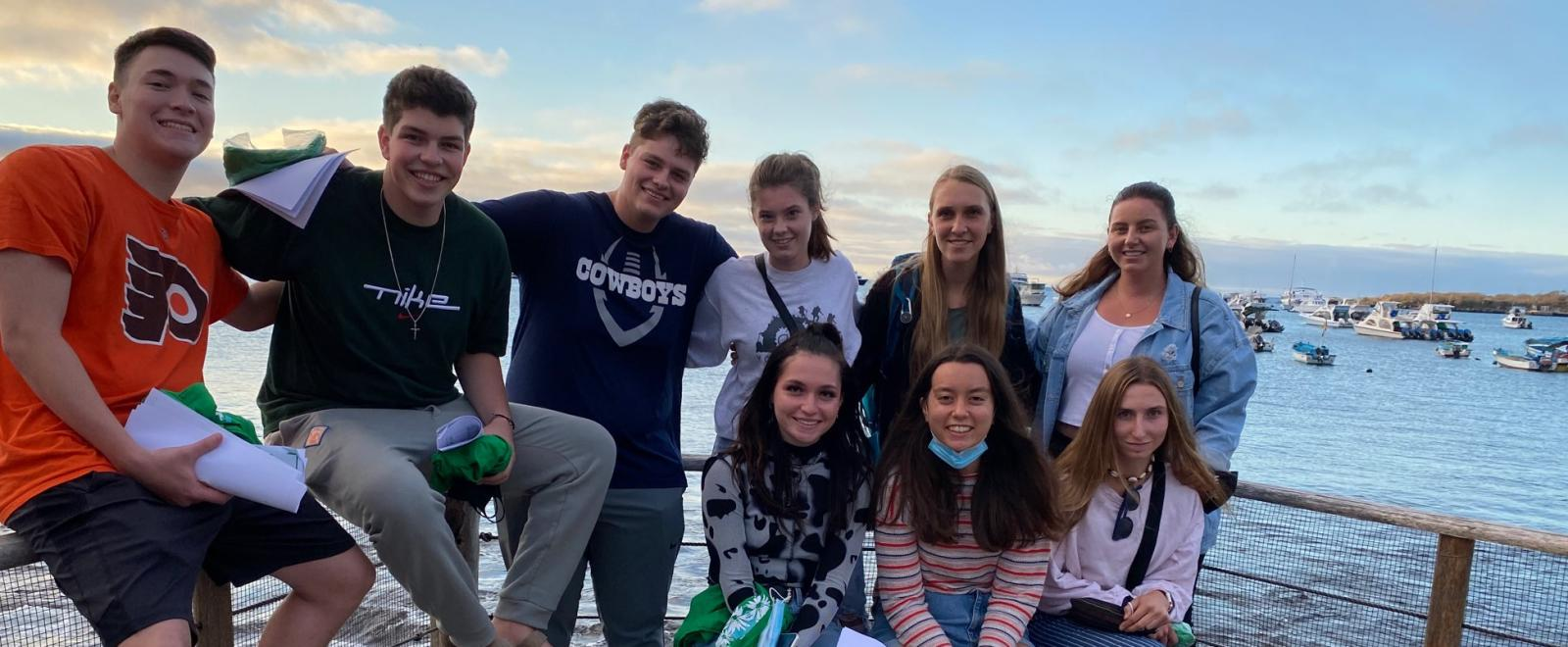 Projects Abroad volunteers enjoy their first week of the 2020 Gap Semester in the Galapagos Islands